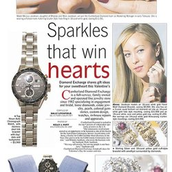 Sparkles that Win Hearts, Marietta Daily Journal