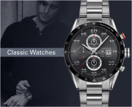 Tag Heuer Classic Watch Graduation