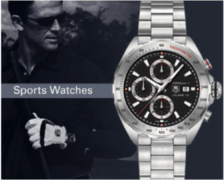 Tag Heuer Sports Watch graduation