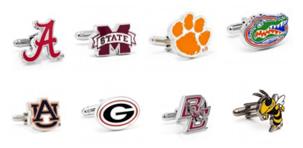 college cuff links graduation